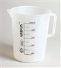 Beaker with Handle Printed Graduations PP 10000ml