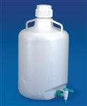 Carboy with Stopcock 10L Polypropylene
