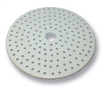 140mm Porcelain Desiccator Plate with Small Holes
