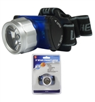 3 Watt 3 Function 120 Lumens Head Lamp
