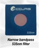 535nm Narrow BandPass Filter for SmartDoc