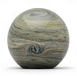 Glass Planet Paperweight Jupiter