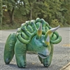 "Inflatable Triceratops 43"" Long"