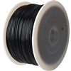 Black Plastic Filament 1.75mm for 3D Printer 1kg