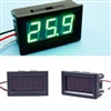 DC Digital Volmeter Panel Display 0-30V Green