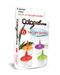 ColorFlame Tea Candles