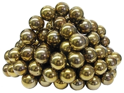 Gold Colored Spherical Magnets Assorted