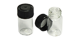 3/4 Dram Mini Glass Vial with Phenolic cap