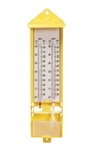 Wall Thermometer - Wet and Dry Bulb