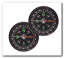 "1"" Compass 2 pieces"