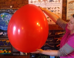 "Monster 36"" Red Balloon"