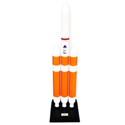 Mastercraft Collection United Launch Alliance Delta IV Rocket (heavy) Model Scale 1/100