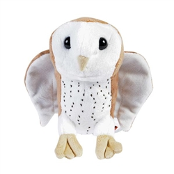 "6"" Barn Owl Pounce Plush"