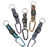 "6"" Paracord Carabiner with Compass"
