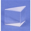 "Glass Right Angle Prism 1-/38"" x 1"""