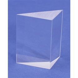 "Glass Right Angle Prism 1-/38"" x 2"""