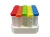 SpectraTube 50ml Color Cap Centrifuge Tubes 500 Tubes in Foam racks