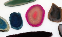 Agate Slice Assorted