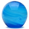 Glass Planet Paperweight Neptune Glow in the dark