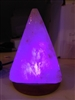 Mini LED Pyramid Salt Lamp - USB Powered