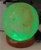 Mini LED Globe Salt Lamp - USB Powered