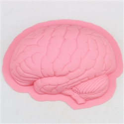 Silicone Brain Baking Mold 8""