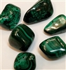 "Malachite, 1"" Tumbled"