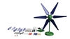SKY-Z MIni DC Wind Turbine & Solar Lab