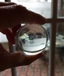 Large Clear Water Marbles 50mm 10pc