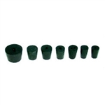 Rubber Stopper -Solid - Size 000