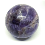 Amethyst Sphere, polished, 50mm diameter