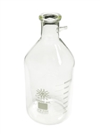 Filtering Bottle, 10000ml Borosilicate Glass