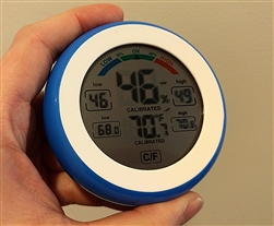 Digital Indoor Hygrometer with Temperature