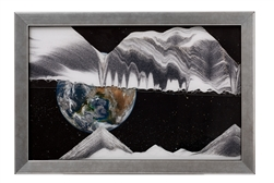 Klaus Bosch Sand Art Earth Apollo 17