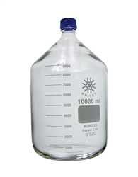 10000ml (10L) Glass Media/Storage Bottle with GL-45 Screw Cap