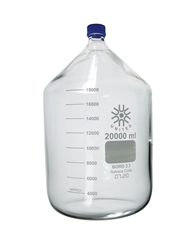 20000ml (20L) Glass Media/Storage Bottle with GL-45 Screw Cap