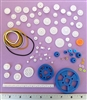 80 pc Mini Plastic Gear and Pulley Assortment