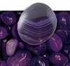 "Purple Agate 1"" -Tumbled"