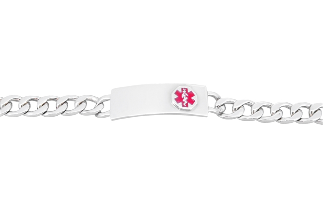 Small Sterling Silver Link Bracelet For Kids