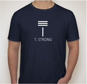 T. Strong Men's Short Sleeve T-Shirt