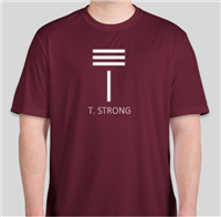 T. Strong Men's Performance Long Sleeve