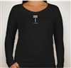 T. Strong Women's Long Sleeve Scoop Neck T-Shirt