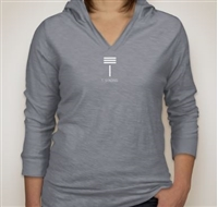 T. Strong Women's Hooded-Shirt