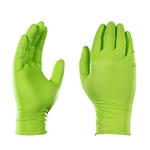 Gloveworks HD Green Nitrile, 100 gloves