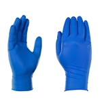 Gloveworks HD Blue Nitrile, 100 gloves