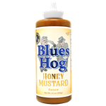 Blues Hog Honey Mustard BBQ Sauce, 21oz Squeeze Bottle
