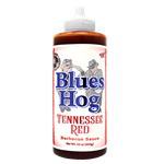 Blues Hog Tennessee Red BBQ Sauce, 23oz Squeeze Bottle