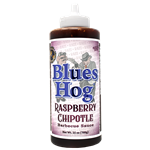 Blues Hog Raspberry Chipotle BBQ Sauce, 25oz Squeeze Bottle