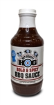 Hot Diggity Hog Bold & Spicy BBQ Sauce, 16oz