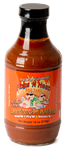 Hogs N Heat BBQ Hot Wing Sauce, 18oz
